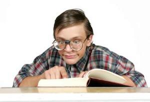 nerd reading